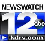 KDRV NewsWatch 12 logo